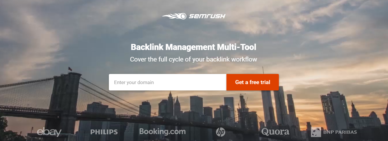 semrush backlink management tool